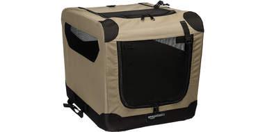 folding travel pet crate