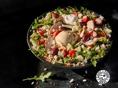 An eco-friendly salad from Panera
