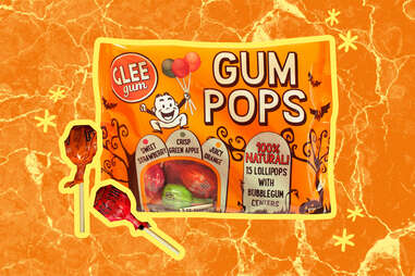 Halloween Glee Gum Pops from Glee Gum