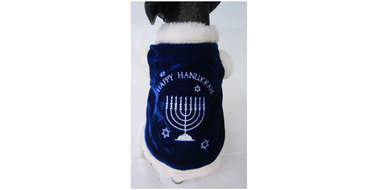 dog cape hanukkah