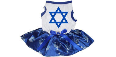 amazon star of david dog dress