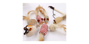 fun feather toys for cats