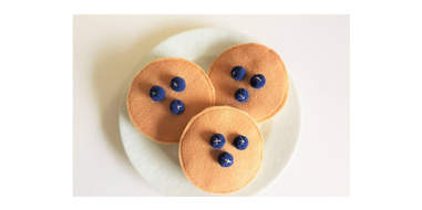 blueberry pancake cat toy