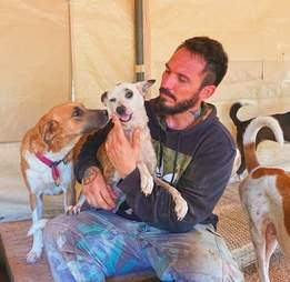 Man rescues 300 animals from hurricane