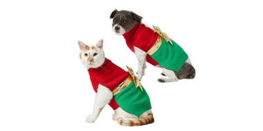 present sweater for dogs and cats