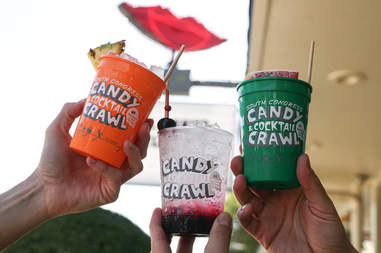 Candy Cocktail Crawl