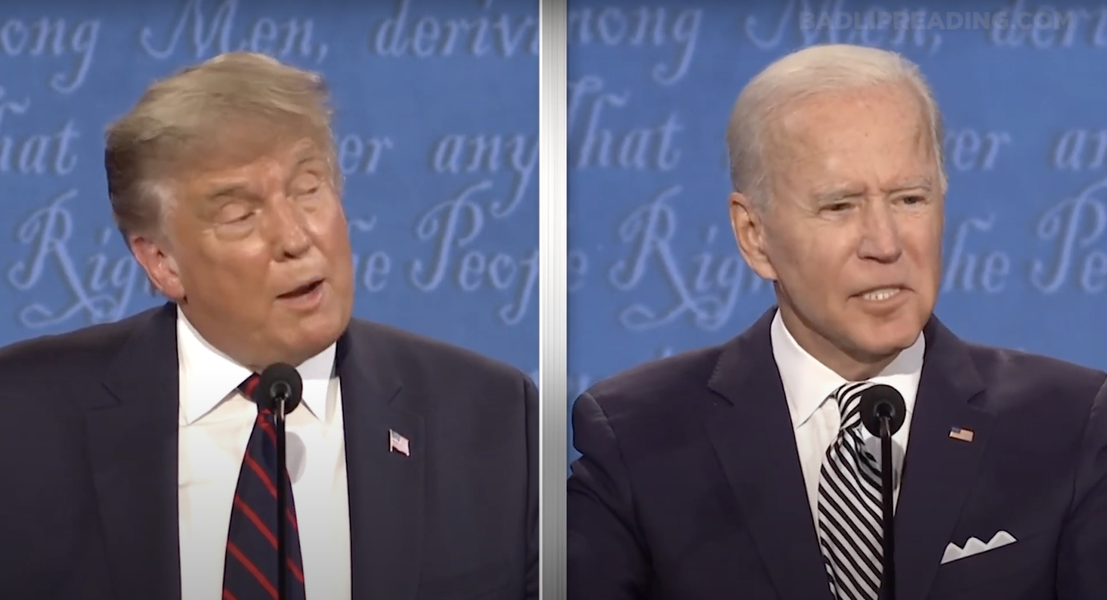 The 'Bad Lip Reading' of the Presidential Debate Has Arrived & It's Hilarious