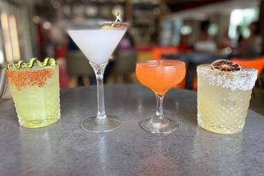 Weights and Measures cocktails