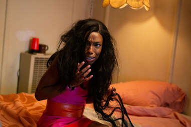 Elle Lorraine in bad hair