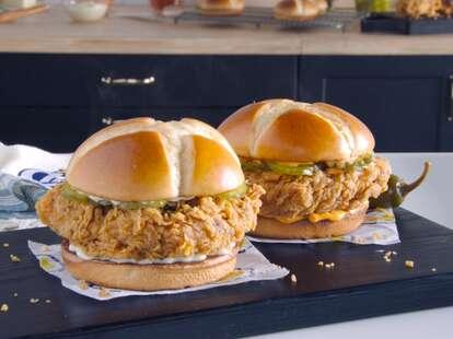 Church's Chicken Sandwiches