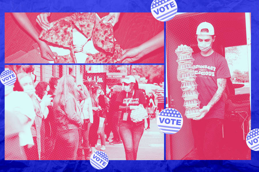 Pizza to the Polls Is Feeding Thousands of Hungry Voters with a Slice of Democracy