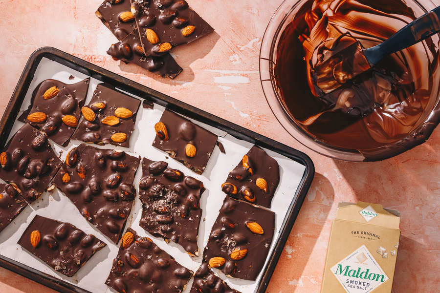 How to Make Vegan Chocolate Almond Bark