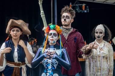 Not So Spooky actors