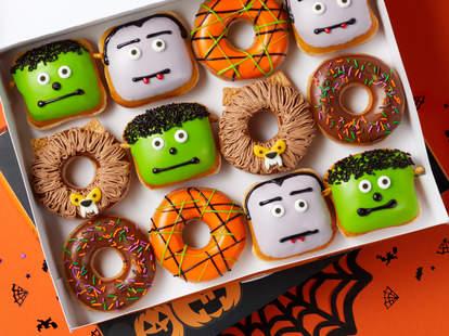 free krispy kreme halloween