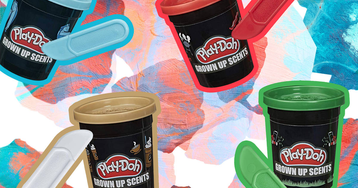 Play Doh Grown Up Scents Collection Coffee Grass Denim More Thrillist