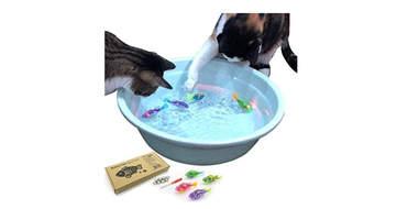 Indoor Cat Interactive Swimming Fish Toy
