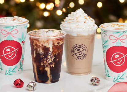 The Coffee Bean Tea Leaf Holiday Menu Try Festive 3 Drinks This Week Thrillist