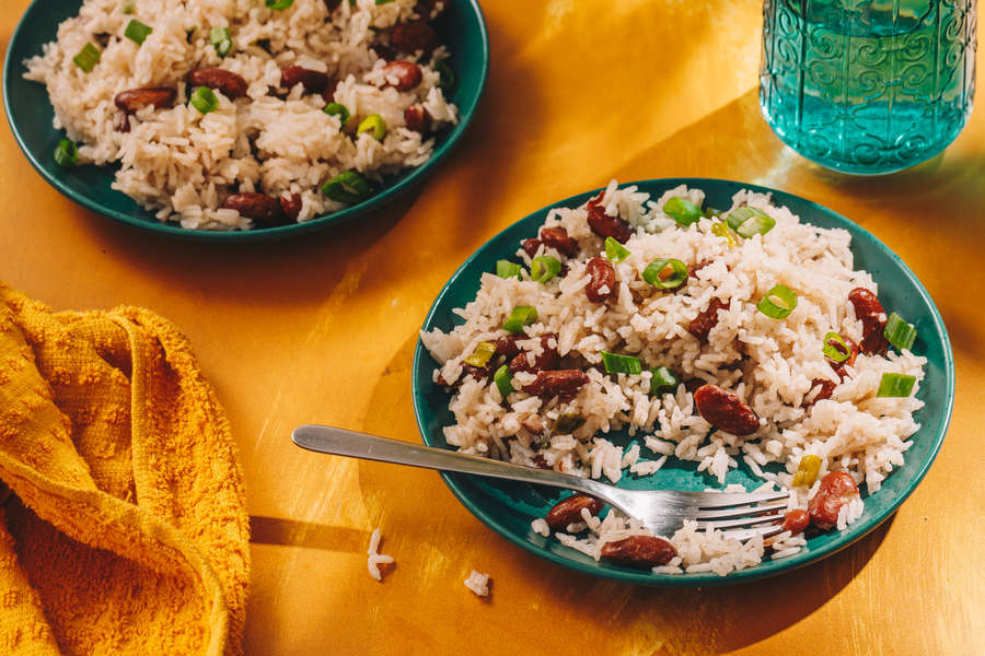 How to Make Jamaican Rice & Peas
