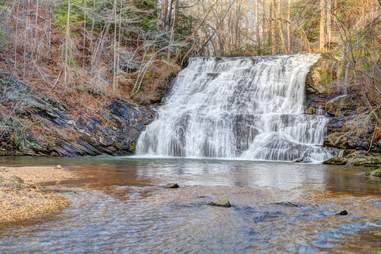 Cane Creek Falls, Dahlonega, Georgia