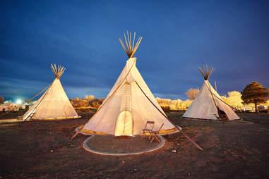 El Cosmico tents