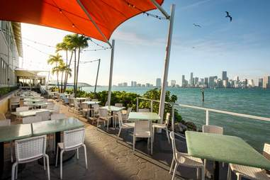 The Rusty Pelican Restaurant in Miami