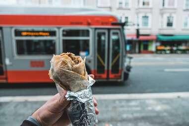 Taqueria El Farolito burrito