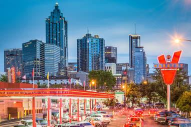 The Varsity in downtown Atlanta