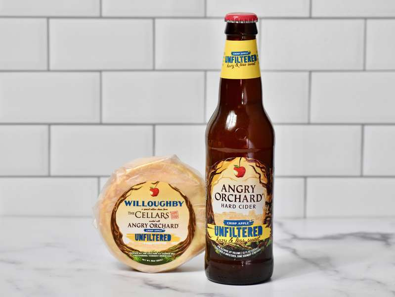 Angry Orchard Is Releasing a Cheese Wheel Made With Hard Cider