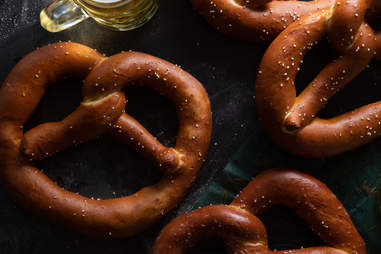 Easy Tiger pretzels