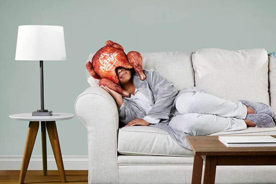 Arby's Wants You to Put This Fried Turkey Pillow on Your Head