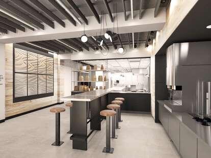 Chipotle Digital Kitchen rendering