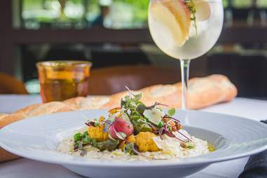 Brasserie Du Parc Houston meal