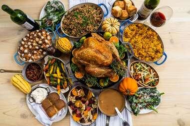 Eunice Thanksgiving dinner