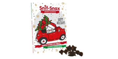 Snif-Snax Happy Holiday Advent Calendar for Cats