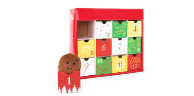 Holiday Advent Dog Toy Calendar