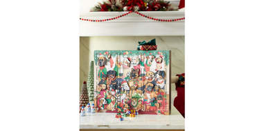 Dogs Christmas Advent Calendar