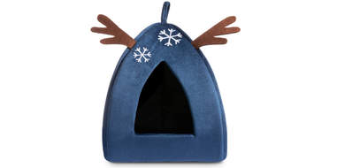 christmas dog bed cat pet holiday