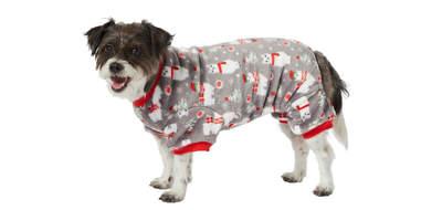 Frisco Holiday Llama Cozy Fleece PJs