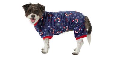 Frisco Snowy Nights Cozy Fleece PJs