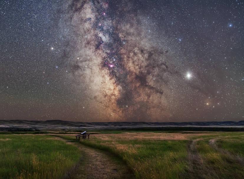 jupiter saturn moon conjunction