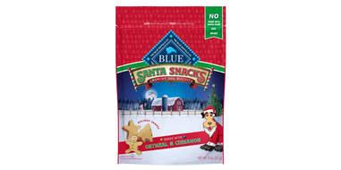 Blue Buffalo Holiday Santa Snacks