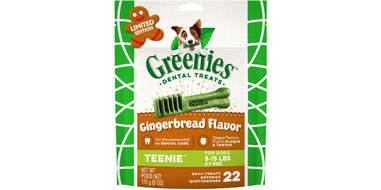 Greenies Gingerbread Flavor Dental Dog Treats