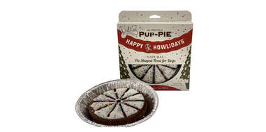Happy Howlidays Pup-PIE Dog Treat