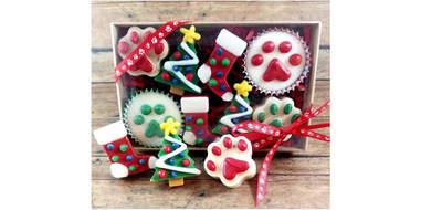 Christmas Dog Treats Mixed Box