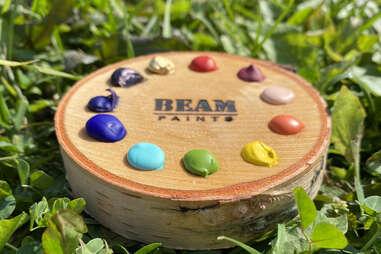 Beam Paints palette