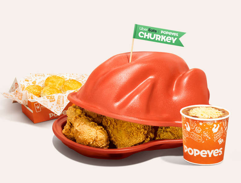 Popeyes Is Offering a Massive 'Churkey' Combo Meal for Thanksgiving
