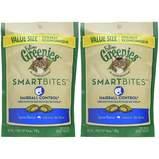 Feline Greenies Smartbites Hairball Control Treats, Tuna, 2-Pack
