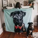 Custom Photo Blanket for Pet Lovers