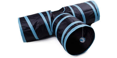Collapsible 3 Way cat Tunnel