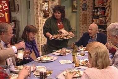roseanne thanksgiving